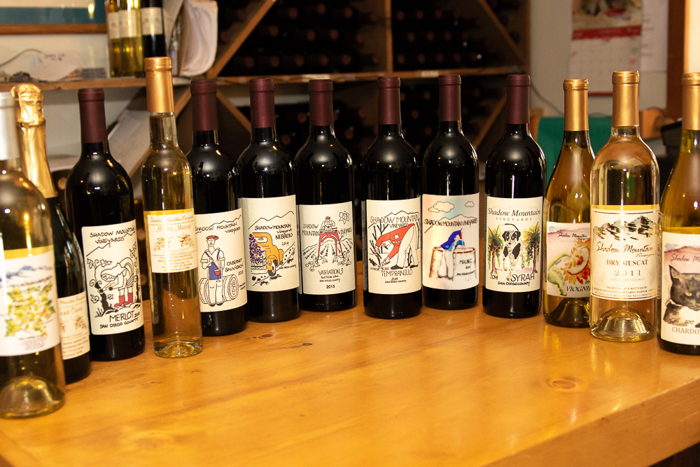 All of our wines